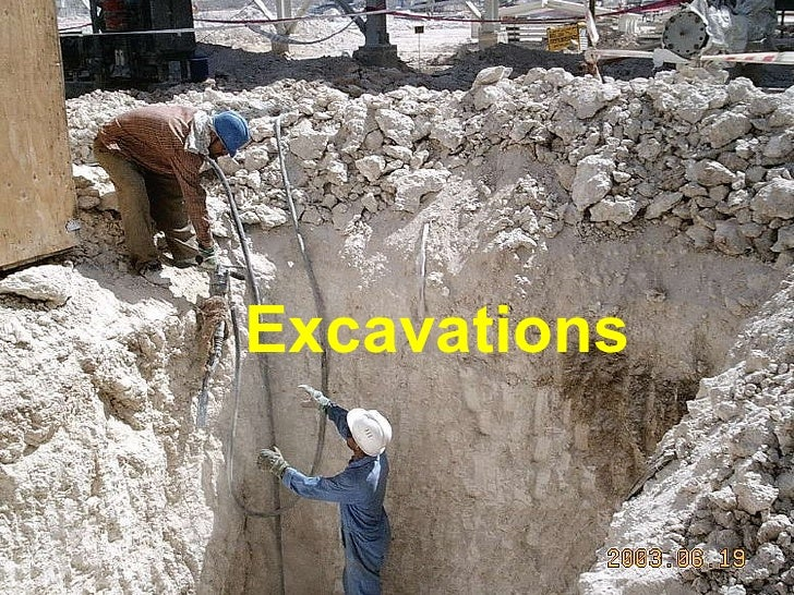 Ngi Excavation Hazards