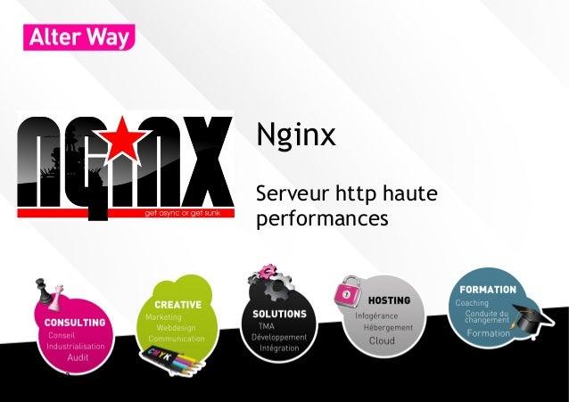 Nginx           Serveur http haute           performances04/03/13                        1