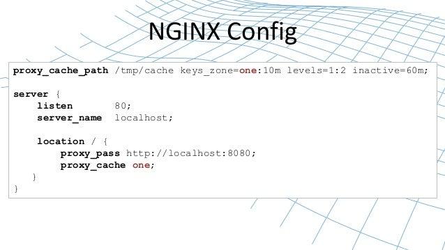 NGINX High-performance Caching