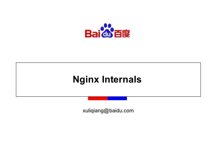 Nginx Internals [email_address]