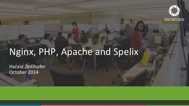 Nginx,  PHP,  Apache  and  Spelix  Harald  Zeitlhofer  October  2014  COMPANY CONFIDENTIAL 1 – DO NOT DISTRIBUTE #Dynatrac...