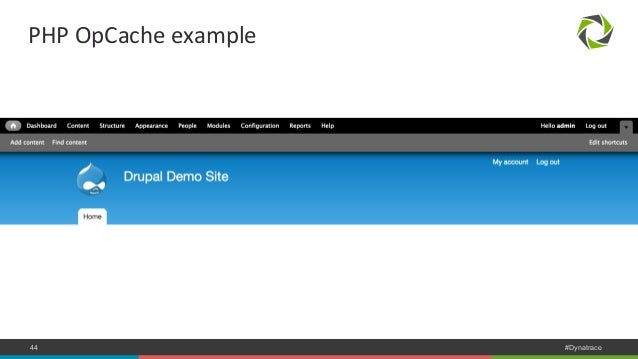 PHP  OpCache  example  COMPANY CONFIDENTIAL 44 – DO NOT DISTRIBUTE #Dynatrace