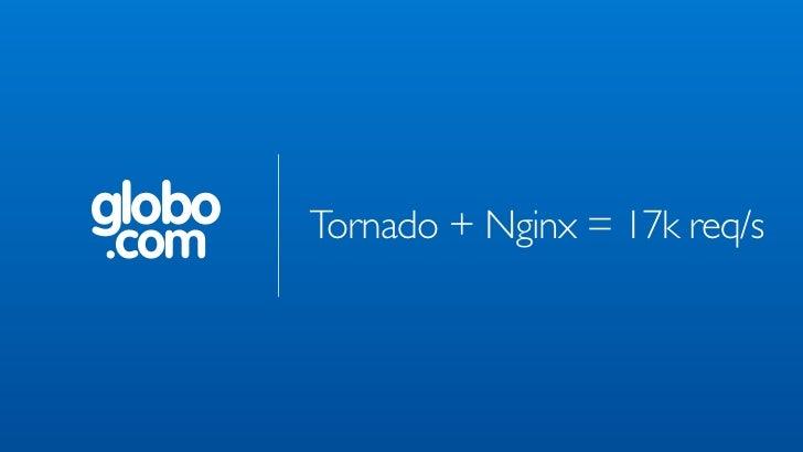 globo   Tornado + Nginx = 17k req/s.com