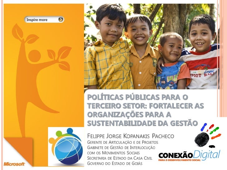 PRIMEIRO SETOR - FINALIDADE PÚBLICA                (ESTADO)   SEGUNDO SETOR - FINALIDADE PRIVADA               (MERCADO)  ...