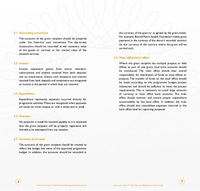 ngo policies and procedures manual