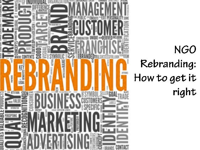 NGO Rebranding: How to get it right