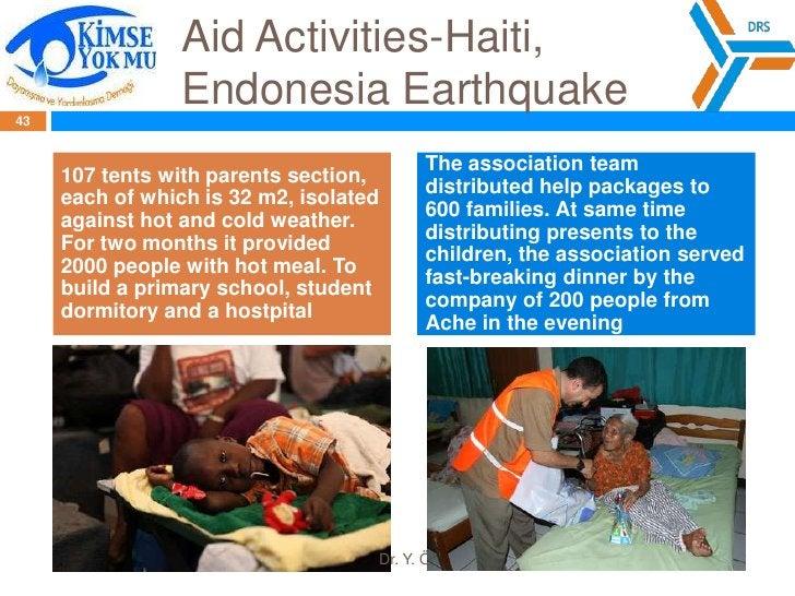 SolidarityandAidAssociation<br />http://www.kimseyokmu.org.tr/en/  <br />Established in 2003<br />YOU CAN HELP TO VICTIMS ...