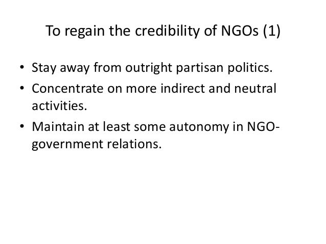 ngos and government relationship