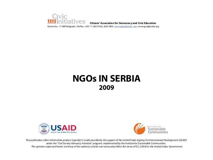 Citizens' Association for Democracy and Civic Education                    Simina 9a • 11 000 Belgrade • Tel/fax: +381 11 ...