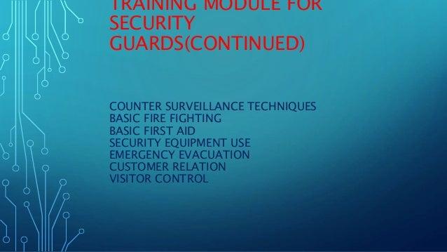 Ngo Security System 2016