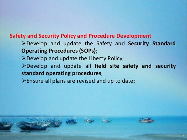 NGOs Field Security Management Approach & Systems