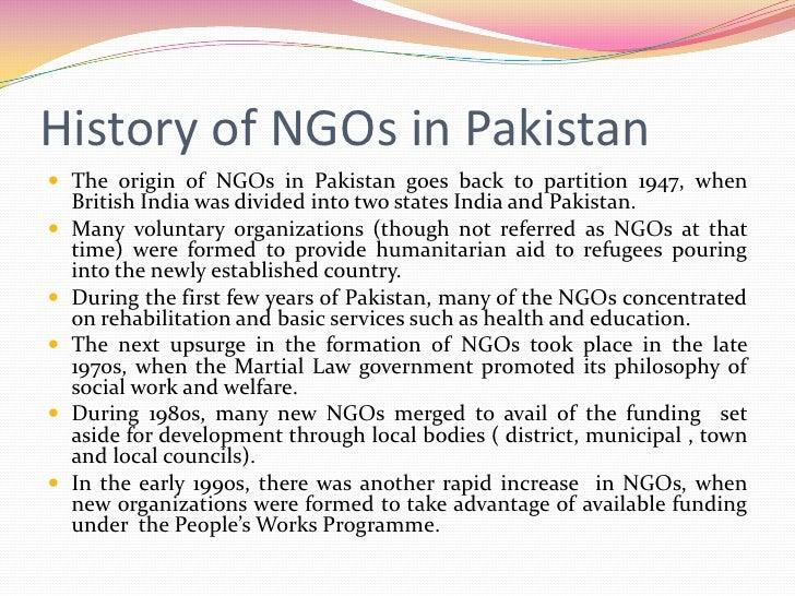 NGOs in pakistan