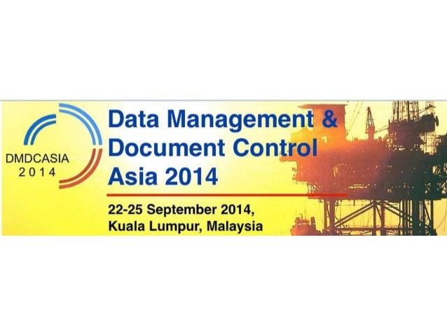 Document Control & Data Management Asia 2014