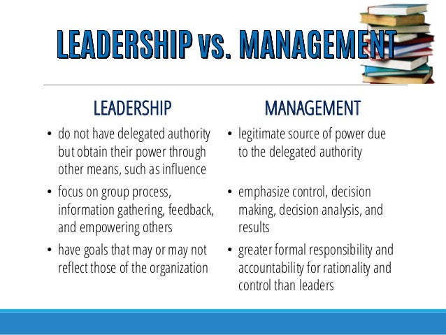 thesis on leadership and management