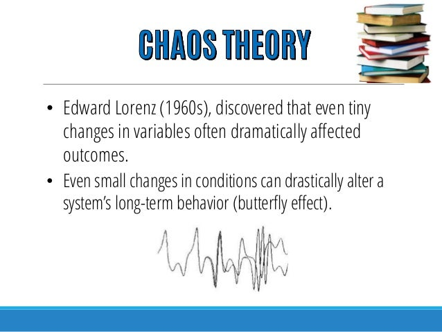chaos theory in nursing In the wall street journal  chaos theory has its basis in quantum physics and holds that: not only do we influence our reality, but, in some degree,.