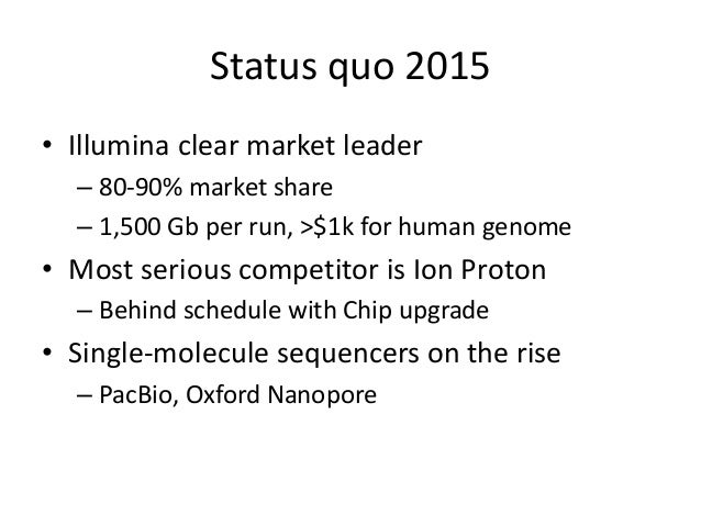 Next Generation Sequencing From 2005 To 2020