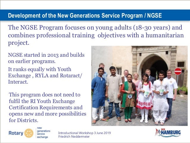 All About New Generations Service Exchange Slide 3