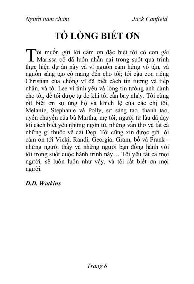 D.D.Watkins Bí mật của luật hấp dẫnLỜI NÓI ĐẦUgười ta nói rằng khi người học sẵn sàng thì ngườithầy sẽ xuất hiện. Nếu bạn ...