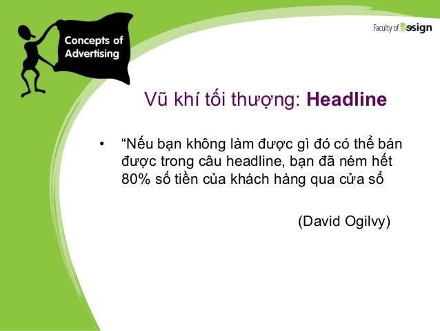 8 loại headline giúp 1 copywriter mua may bán đắt 2. Indirect Headline CÓ MỘT LOẠI TRÂU CHỈ CẦN ĐỔ XĂNG VÀ THAY NHỚT TRÂU ...