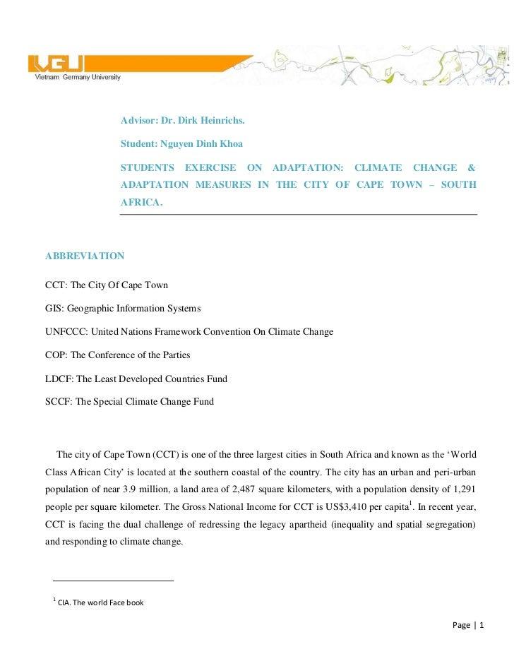 centertop<br />Advisor: Dr. Dirk Heinrichs.<br />Student: Nguyen Dinh Khoa<br /><ul><li>STUDENTS EXERCISE ON ADAPTATION: C...