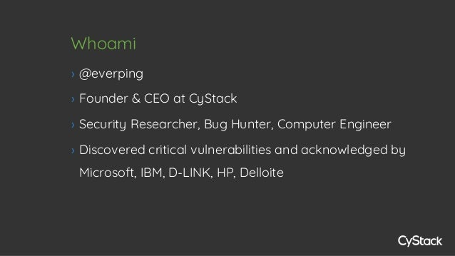 Nguyen Huu Trung - Building a web vulnerability scanner - From a hacker's view Slide 2
