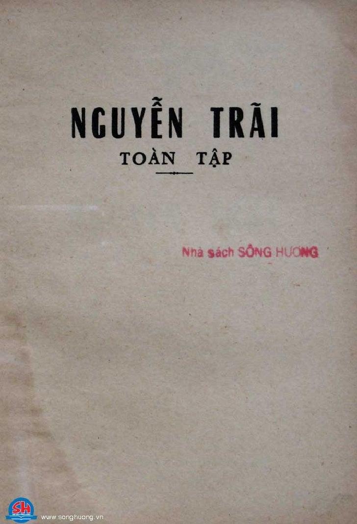 Nguyen Traitoantap