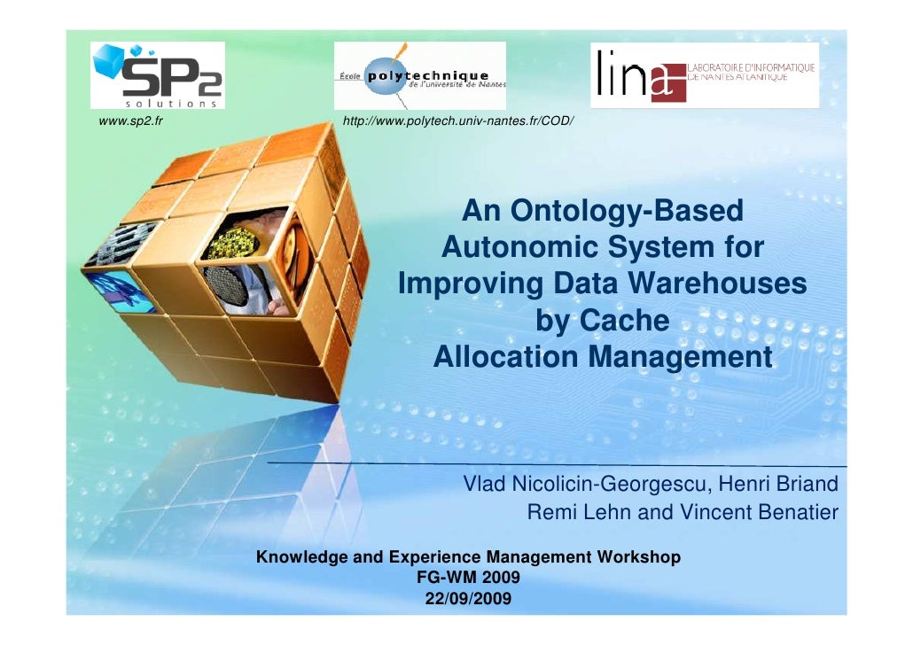 LOGO www.sp2.fr           http://www.polytech.univ-nantes.fr/COD/                                       An Ontology-Based ...