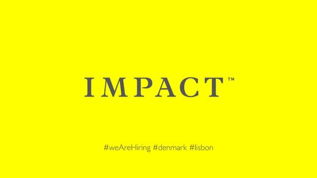 #weAreHiring #denmark #lisbon