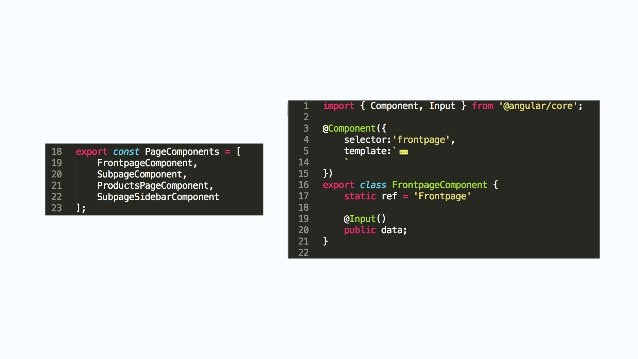 Without all the ugly Flexibility real routes => getting data in resolve + animations Rich Text