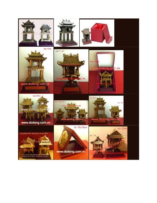 Biểu tượng chùa một cột,khuê văn các - quà tặng hà nội Slide 2