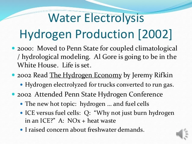  2000: Moved to Penn State for coupled climatological / hydrological modeling. Al Gore is going to be in the White House....