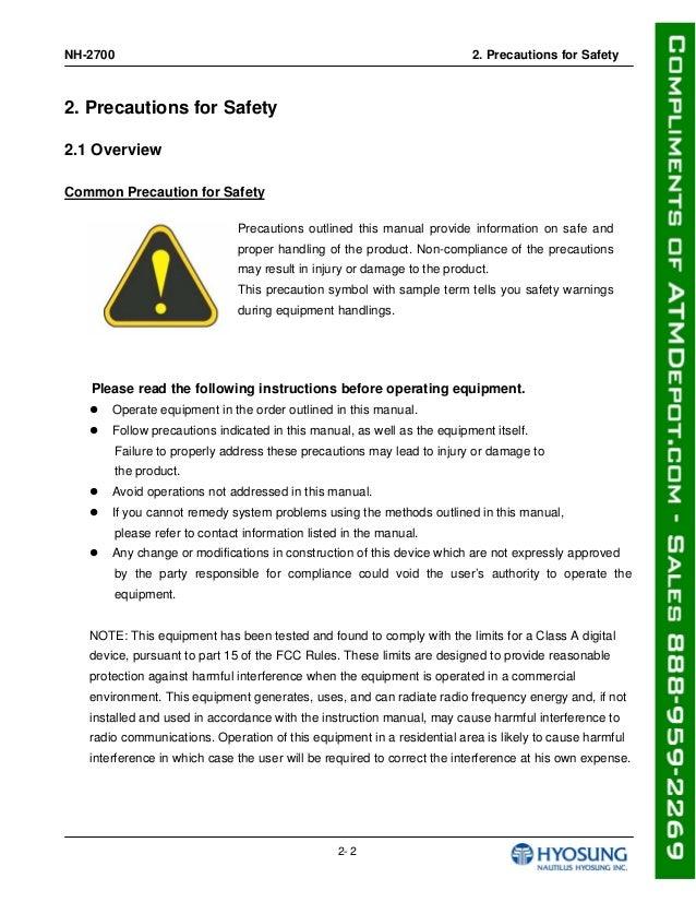Nh 2700 operator manual nh 2700 2 sciox Choice Image