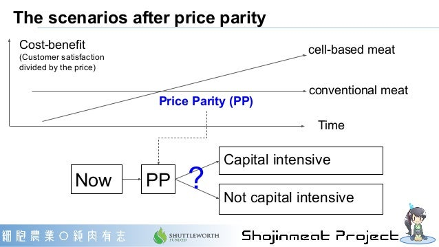 """High-MES """"Capital intensive"""" scenario ・2 to 3 cell-ag companies per country (like automotive industries) ・Very high minimu..."""