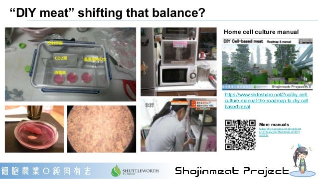 """・""""DIY meat"""" may reduce the minimum efficient scale, pushing the balance toward the right. ・Continued development in DIY me..."""
