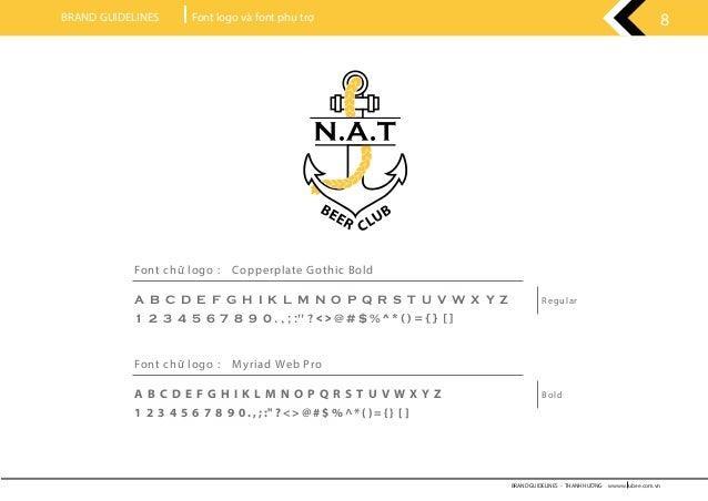 Thiết kế logo nhà hàng NAT