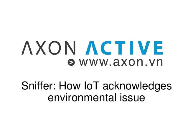 Sniffer: How IoT acknowledges environmental issue