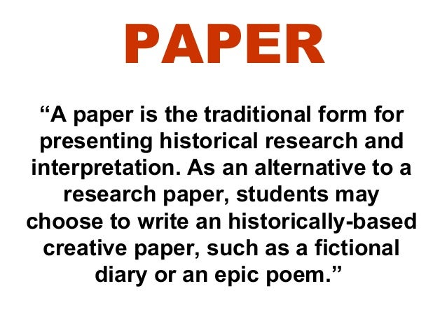 Help writing a process paper