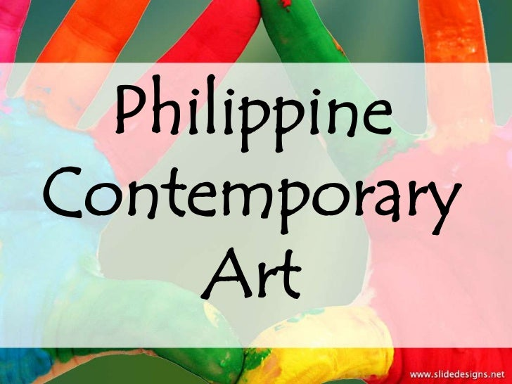 PhilippineContemporary     Art