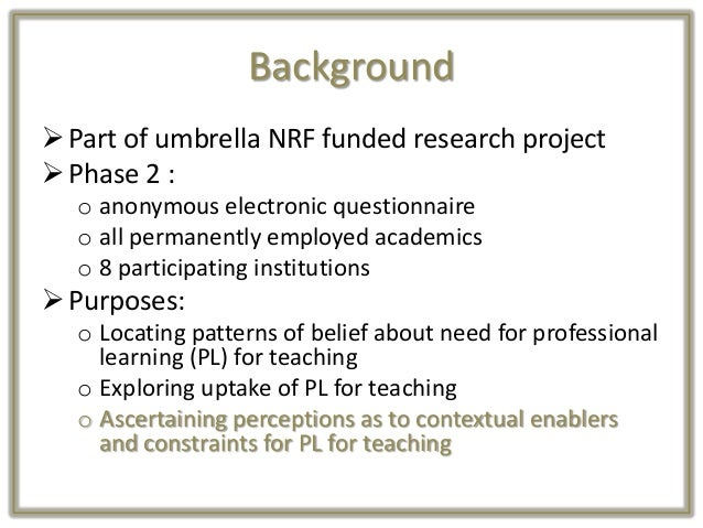 Nherman heltasa professional learning of academics for their teaching function_final Slide 3