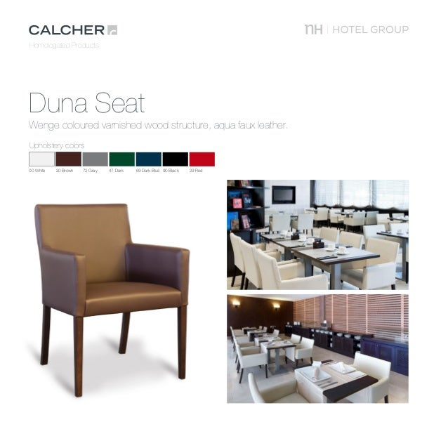 Homologated Products Calcher NH Furniture ...