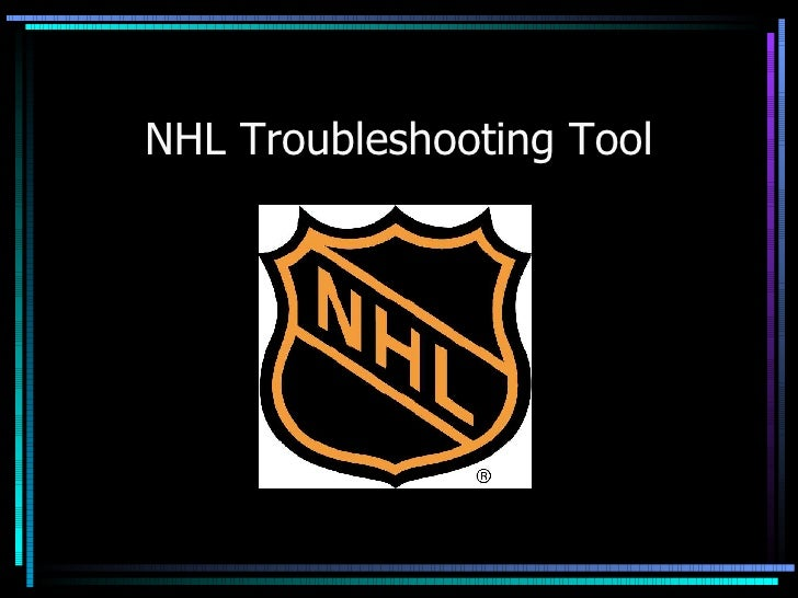 NHL Troubleshooting Tool