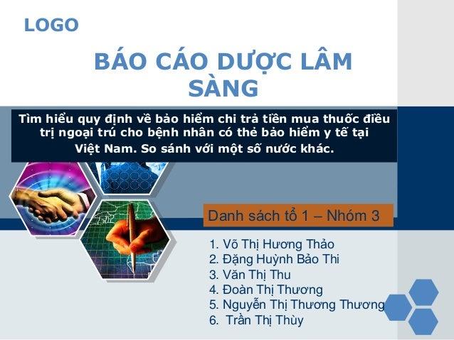 LOGO Tìm hiểu quy định về bảo hiểm chi trả tiền mua thuốc điều trị ngoại trú cho bệnh nhân có thẻ bảo hiểm y tế tại Việt N...