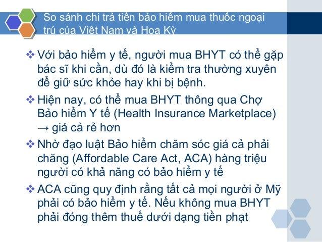 So sánh chi trả tiền bảo hiểm mua thuốc ngoại trú của Việt Nam và Hoa Kỳ Với bảo hiểm y tế, người mua BHYT có thể gặp bác...