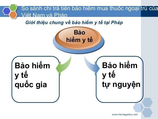 www.themegallery.com So sánh chi trả tiền bảo hiểm mua thuốc ngoại trú của Việt Nam và Pháp Bảo hiểm y tế quốc gia Bảo hiể...