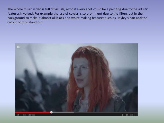 paramore now video analysis essay