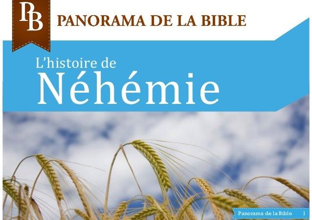 L'histoire  de   Néhémie   Panorama de la Bible 1