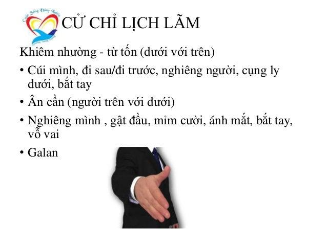 NGHỆ THUẬT GIAO TIẾP ỨNG XỬ THỰC TẾ Website: www.cuocsongdungnghia.com – Email: daotao@kynang.edu.vn – Phone: 0916.72.0000