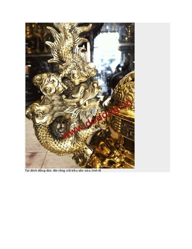 Đồ thờ cao cấp đúc nổi 3d,đỉnh đồng dapha,đồ đồng thờ cúng đại phát Slide 3