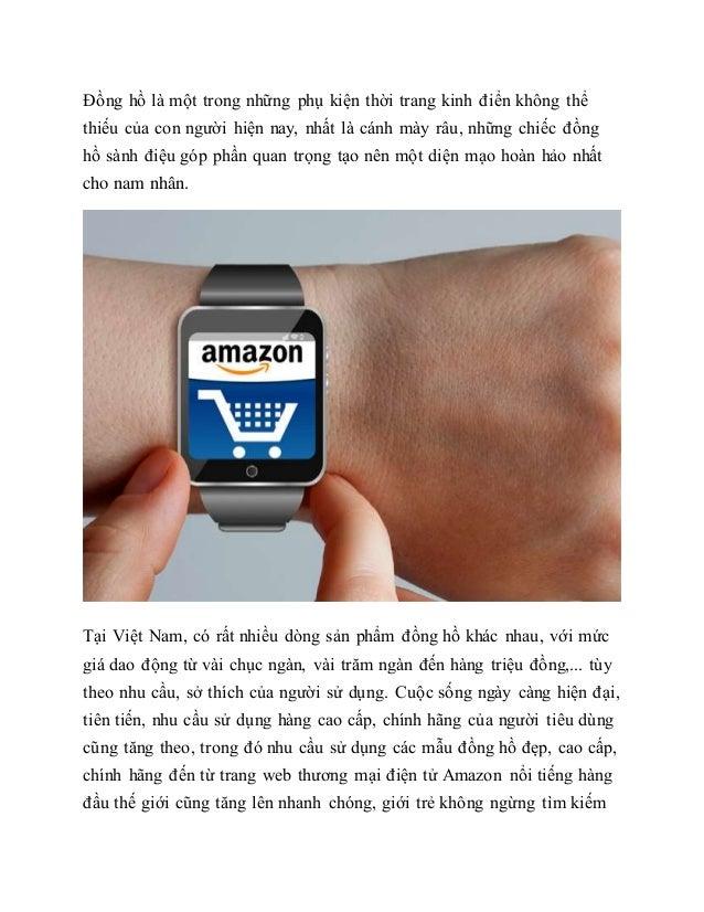 Đồng hồ là một trong những phụ kiện thời trang kinh điển không thể thiếu của con người hiện nay, nhất là cánh mày râu, nhữ...