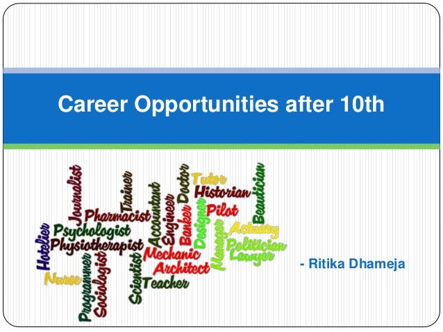 Career opportunities after 10th std career after class 10 career opportunities after 10th ritika dhameja thecheapjerseys Choice Image